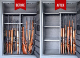 Gun Storage Solutions-Rifle Rods Expansion Pack (6 Rods)