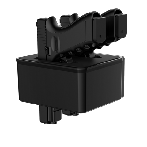 RS500i Twin Pistol/AR Magazine Rack (Door) - RS-PR-B