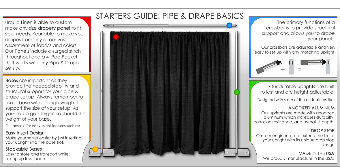 kit dp black products x fabric com pipe office drape amazon backdrop premier and in drapes