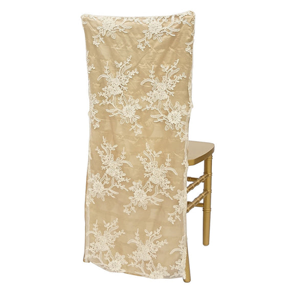 Leylani Lace Chair Back In Ivory