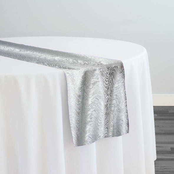 Twinkle Tensil Table Runner in Silver
