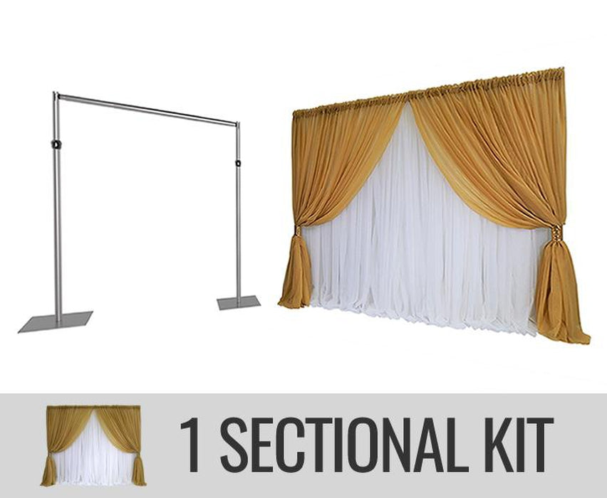 Specialty Backdrop Kit - 1 SECTION