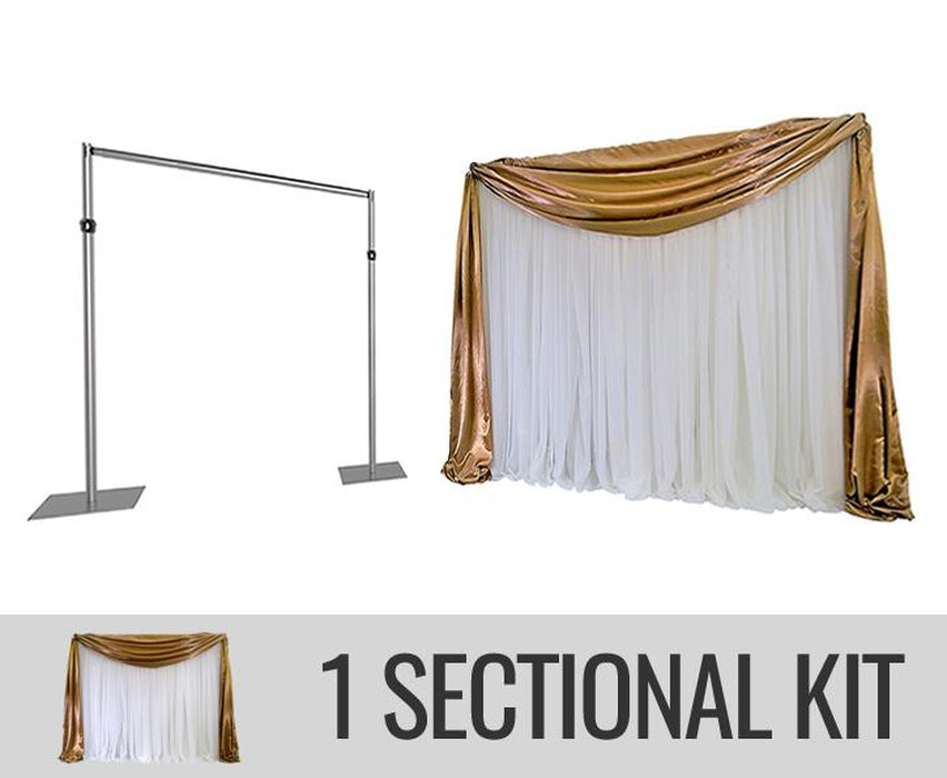 ECONOMY BACKDROP KIT - 1 SECTION