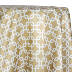 Lynx Print (Lamour) Table Linen in Khaki