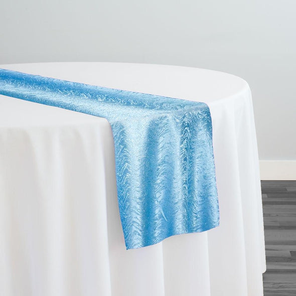 Twinkle Tensil Table Runner in Turquoise