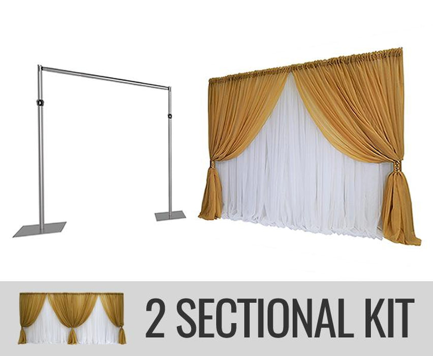 Specialty Backdrop Kit - 2 SECTION