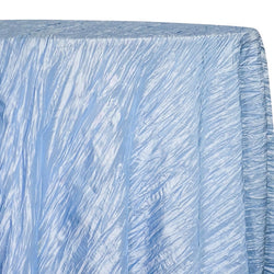 Accordion Taffeta Table Linen in Blue