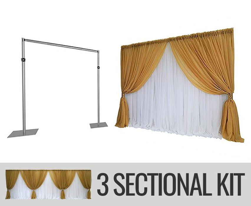 Specialty Backdrop Kit - 3 SECTION