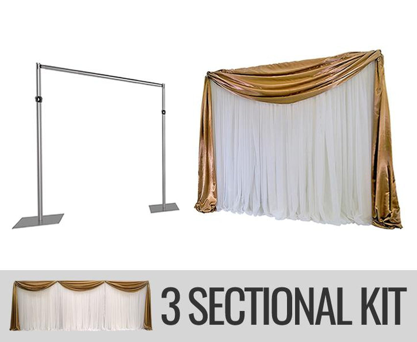 ECONOMY BACKDROP KIT - 3 SECTION