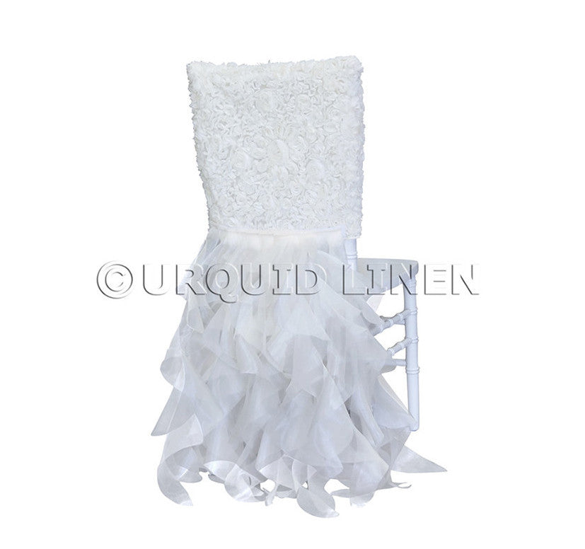 Lace Chair Back Tutu - Ivory