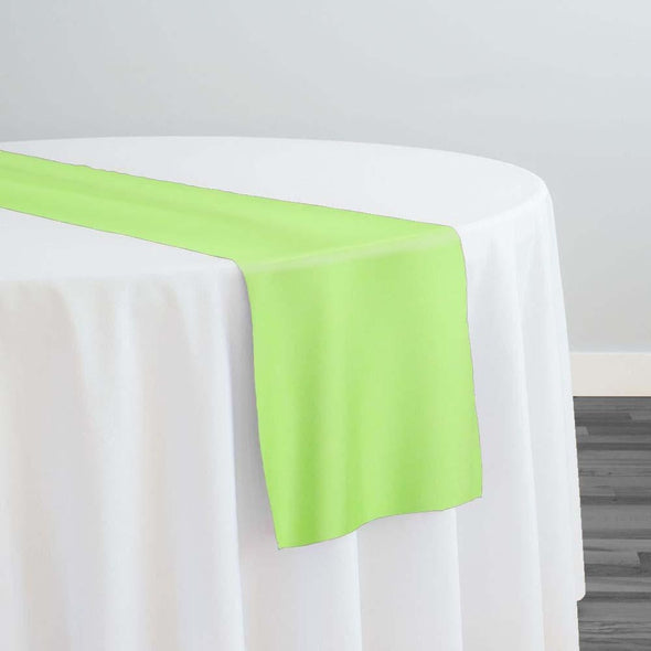 Premium Polyester (Poplin) Table Runner in Lime 1725