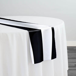 "Lamour 1"" & 4"" Stripe Table Runner in 4"" Stripe"