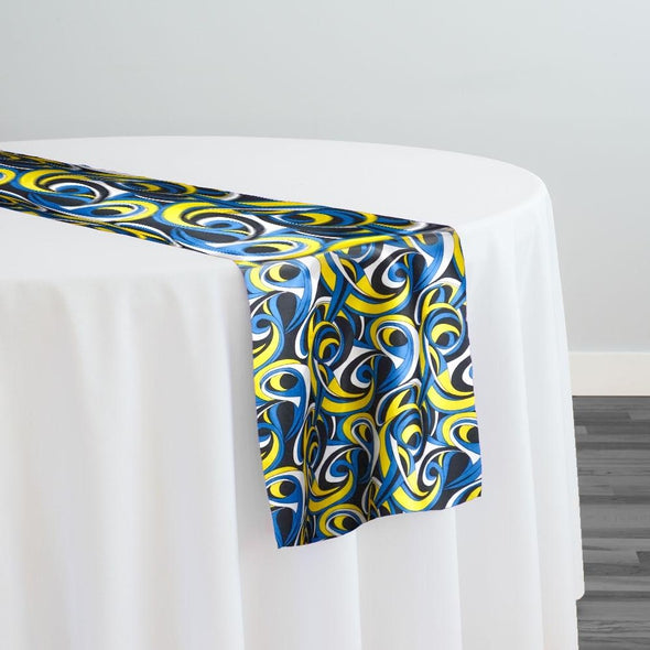 Abstract (Pucci) Table Runner in Corny