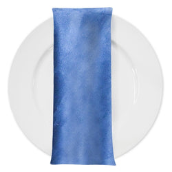 Microfiber Suede Table Napkin in Navy