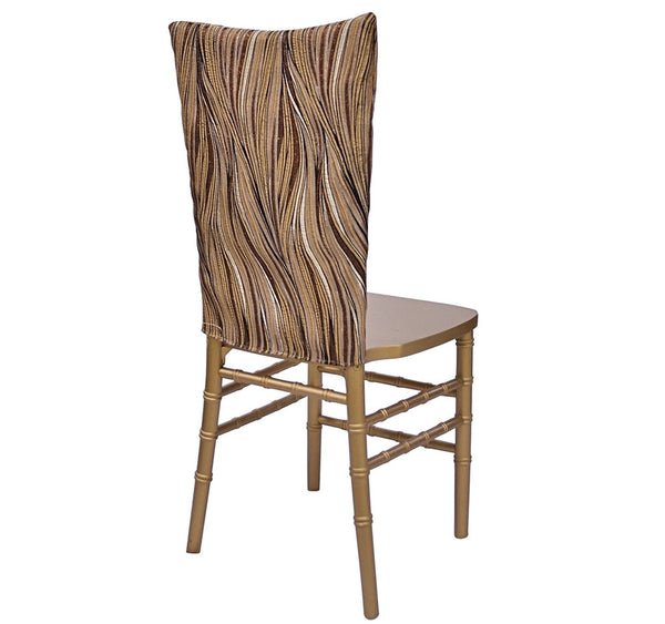 Allure Chair Half Back Gold