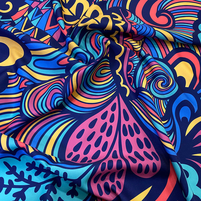 70's Funk (Poly Print) Wholesale Fabric