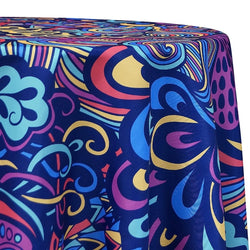 70's Funk (Poly Print) Table Linen
