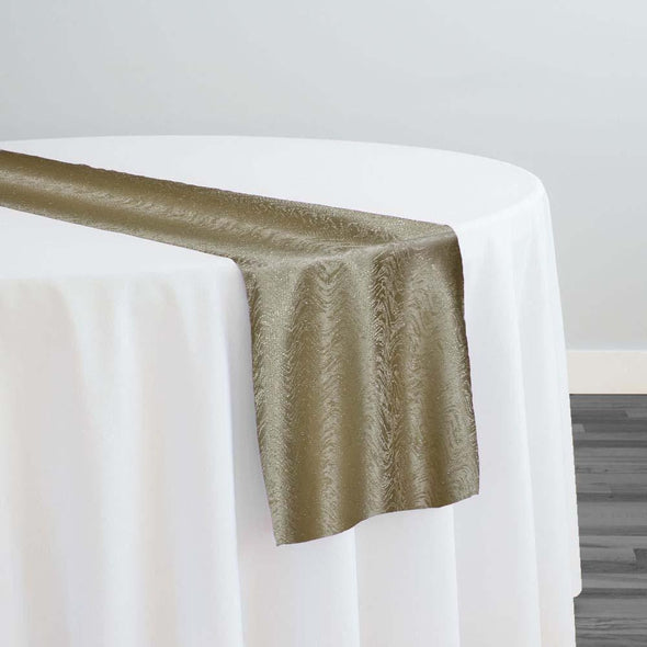 Twinkle Tensil Table Runner in Gold