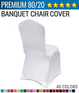 Spandex Chair Cover (80/20 Premium) 2