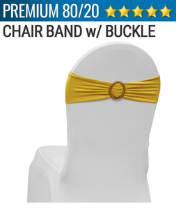 Spandex Chair Band w/ Buckle