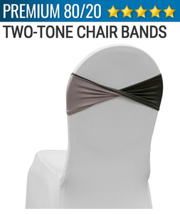 Spandex Chair Band - Two Tone