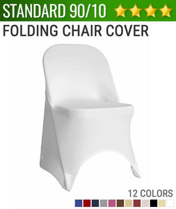 Spandex Folding Chair Cover (90/10 Grade A)