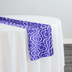 Gatsby Print (Lamour) Table Runner in Purple