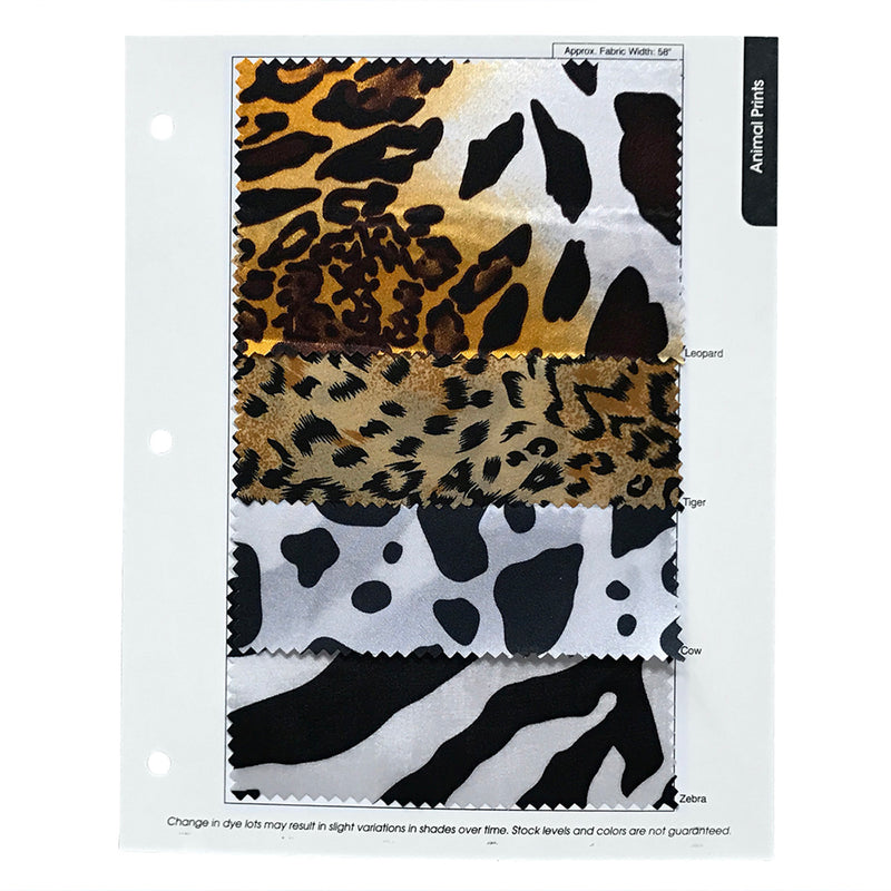 Animal Print Wholesale Fabric in Tiger