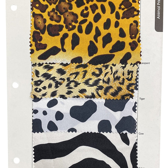 Animal Print Table Runner in Zebra