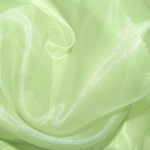 Crystal Organza Table Runner in Apple Green 704
