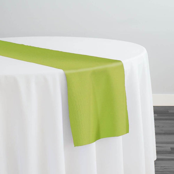 Scuba (Wrinkle-Free) Table Runner in Apple Green 504