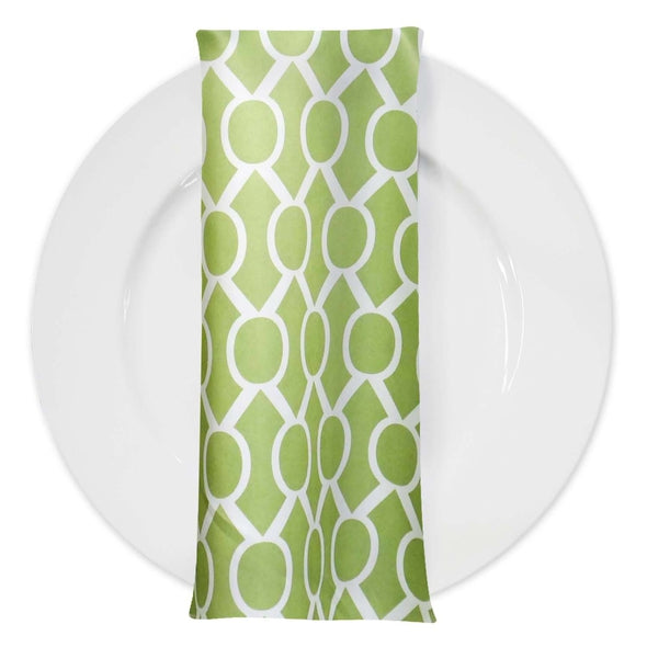 Halo Print Lamour Table Napkin in Avocado