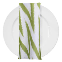 Horizon (Poly Print) Table Napkin in Avocado