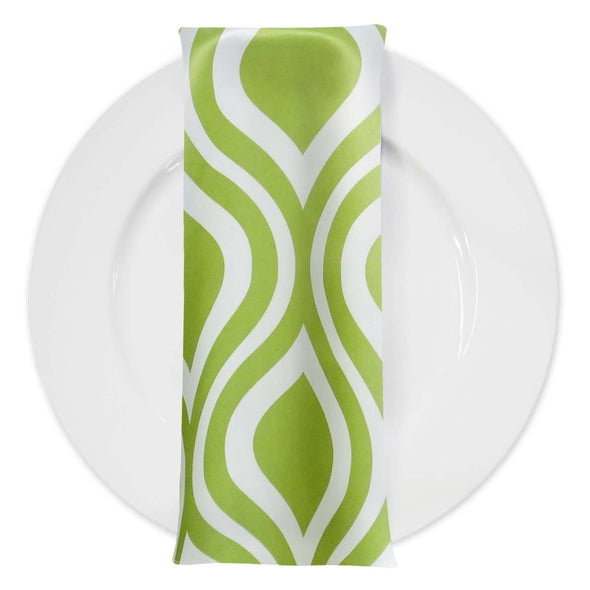 Groovy Print Lamour Table Napkin in Avocado