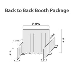 Trade Show Back-to-Back Booths