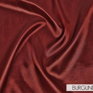 Taffeta (Solid) Table Linen in Burgundy 063