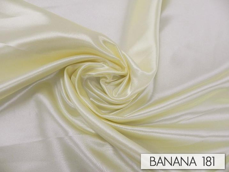 "100pcs - Bridal Satin - 8""x108"" Sash w/ Slanted Ends - Banana"