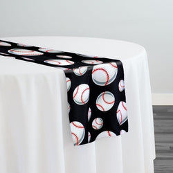 Sports (Poly Print) Table Runner in Baseball