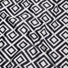 Paragon Print Lamour Table Napkin in Black and White