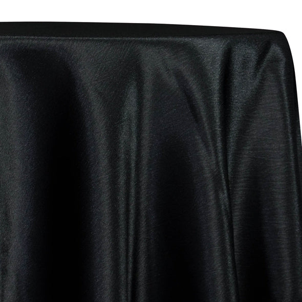 Luxury Satin Table Linen in Black