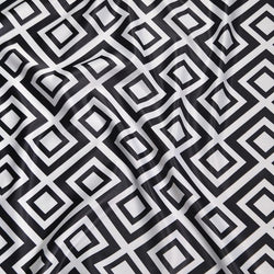 Paragon Print (Lamour) Table Linen in Black and White