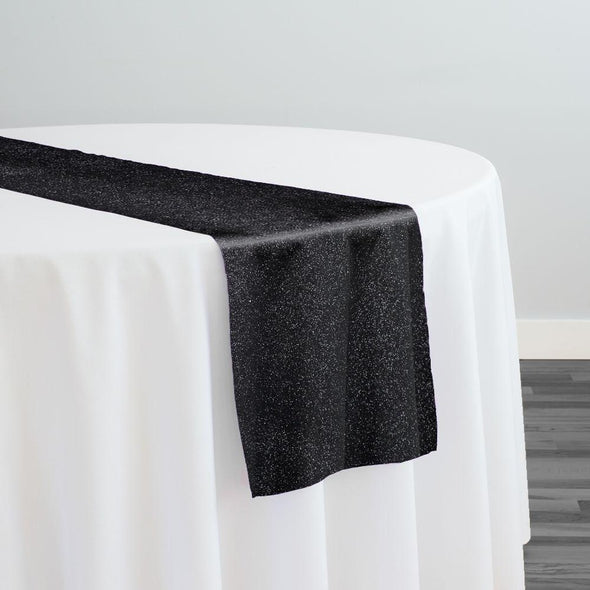 Glam & Glits Table Runner in Black