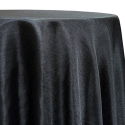 Imitation Burlap (100% Polyester) Table Linen in Black