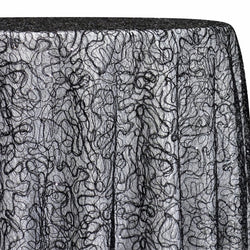 Bedazzle Table Linen in Black