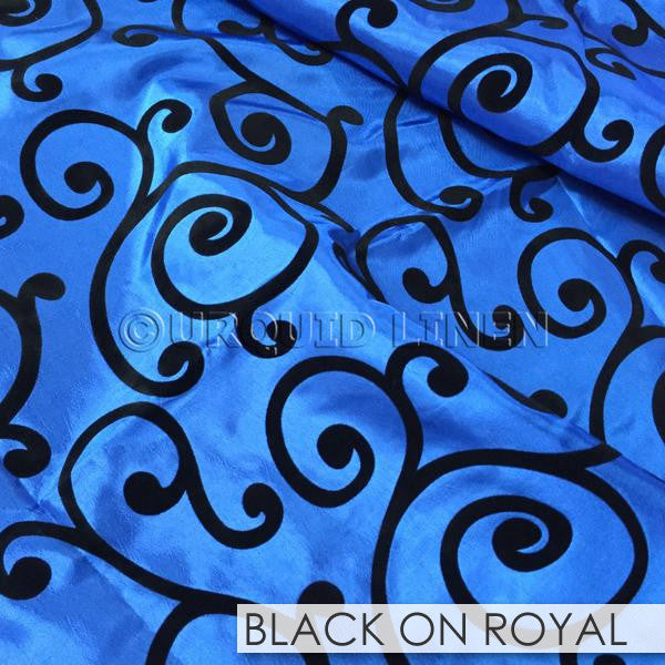 BLACK ON ROYAL