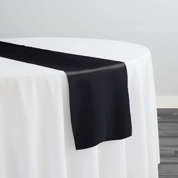 Scuba (Wrinkle-Free) Table Runner in Black