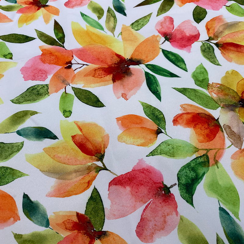 Blooms Flora (Poly Print) Wholesale Fabric
