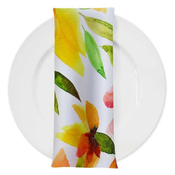 Blooms Floral (Poly Print) Table Napkin