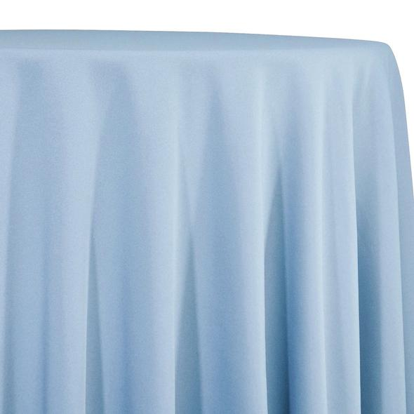 Baby Blue Tablecloth in Polyester for Weddings