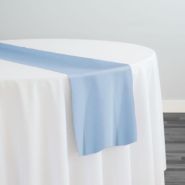 Premium Polyester (Poplin) Table Runner in Blue 1123